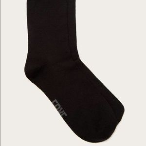 Frye Accessories - Frye Co. Supersoft Crew Socks 3-Pk NWT SZ 5-10 Blk